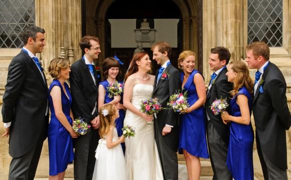 Trinity College Cambridge Wedding