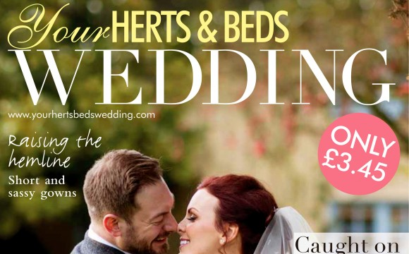 We're in this months issue of  'Your HERTS & BEDS WEDDING' magazine...